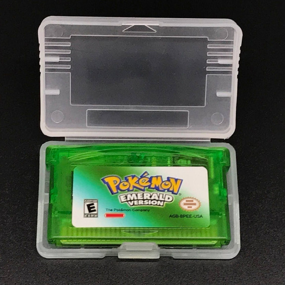 Pokemon Emerald Em Português Game Boy Advance Gba Nds Lite