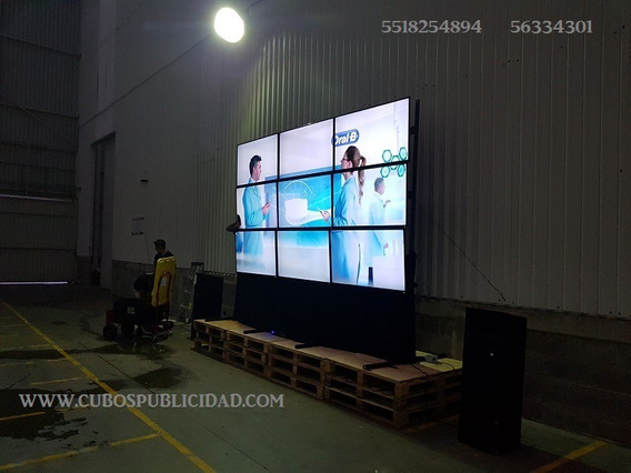 Renta,de,audio,pantallas,video Wall,videomuro,lcd,led,podium