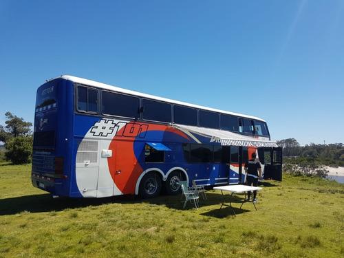 Omnibus Motorhome Volvo 2 Pisos