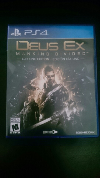 Jogo Ps4 Deus Ex Mankind Divided