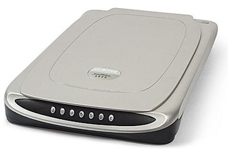 Scanner De Mesa A4 De Alta Resolução Scanmaker 5800 Microtek