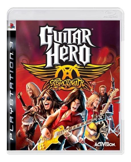 Guitar Hero Aerosmith Ps3 Mídia Física Pronta Entrega