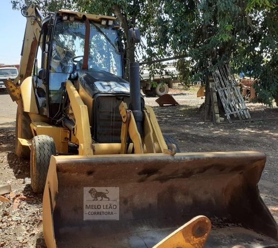 Retroescavadeira Caterpillar 420 4x2 - Ano 2008 - Poucas Hrs