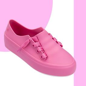 Melissa Infantil Mel Ulitsa Sneaker Rosa Bege Preto Original