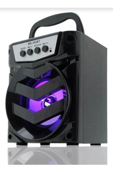 Caixa De Som Bluetooth P2 Rádio Fm Am Barata Envio Imediato.