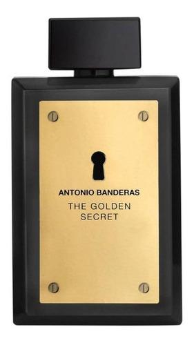 Antonio Banderas The Golden Secret EDT 200ml para  hombre