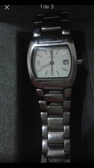 Relógio Dkny Prata Original Lindo