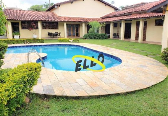 Casa Com 4 Dormitórios À Venda, 395 M² Por R$ 790.000,00 - Paysage Clair - Vargem Grande Paulista/sp - Ca3186