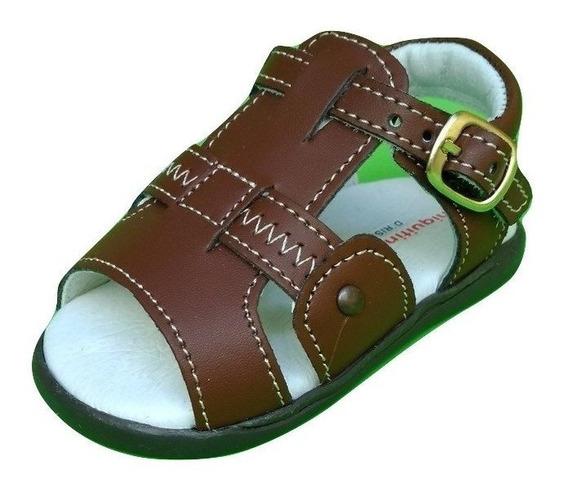 Huaraches Zapatos De Piel Para Bebes Niña Y Niño Bluetooth