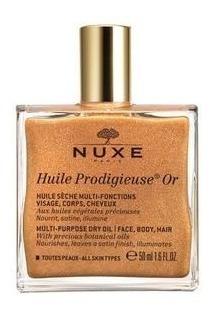 Nuxe Huile Prodigieuse-aceite Multifunción Efecto Oro 50 Ml