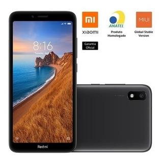 Celular Xiaomi Redmi 7a Preto 32gb Versão Global Novo