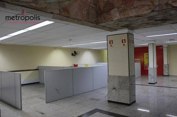 Sala Comercial Para Locação, Centro, São Caetano Do Sul. - Sa0089