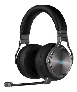Auriculares Corsair Virtuoso Se Gunmetal Wireless Hifi Rgb