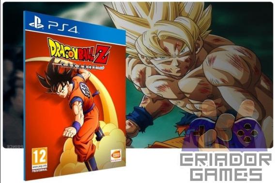 Dragon Ball Z Karkaroto Ps4 Digital Psn Vitalício