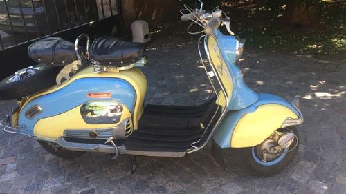 Siambretta 125 Ld De Coleccion Año 1954