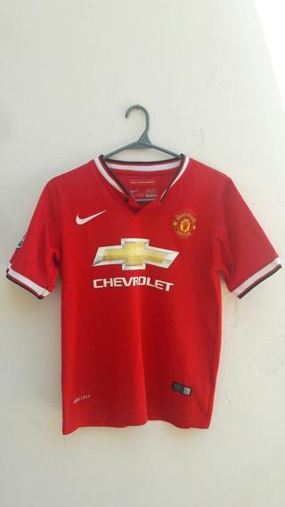 Camiseta Del Manchester United Nike Original Niño Talle 26
