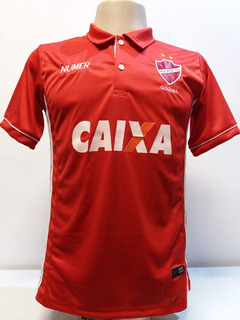 Camisa Vila Nova Vermelha Polo 2018/19