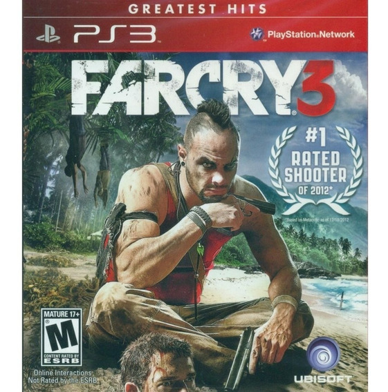 Jogo Ps3 Far Cry 3 - Novo - Lacrado - Original