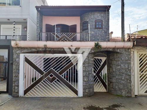 Imagem 1 de 19 de Sobrado Com 3 Dormitórios À Venda, 239 M²  - Jardim Ana Maria - Sorocaba/sp - So1443