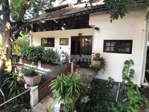 Casa De Rua À Venda, 2 Quartos, 2 Suítes, 3 Vagas, Botafogo - Rio De Janeiro/rj - 11222