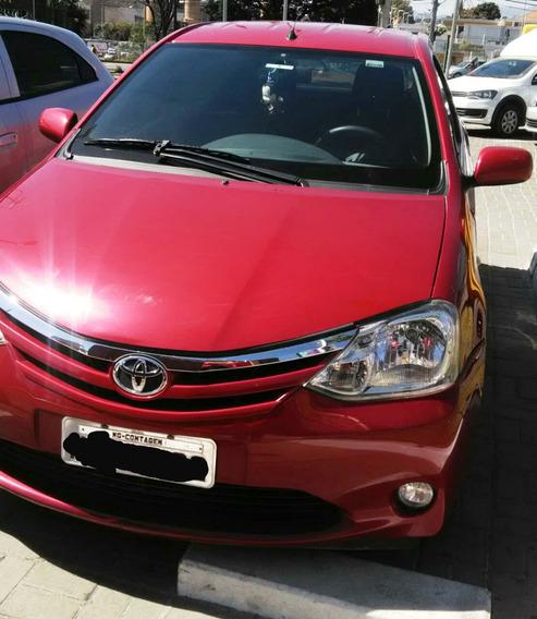 Toyota Etios Xls 1.5 Completo Com Kit Multimidia