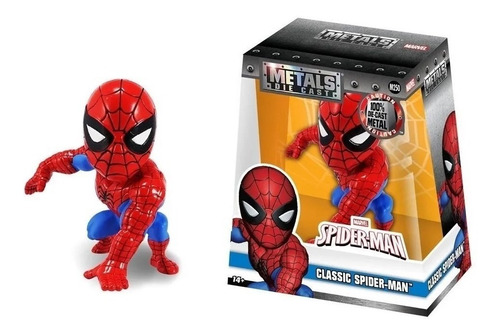 Figura Metal Spiderman 11 Cm
