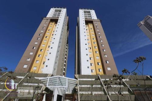 Imagem 1 de 14 de Apartamento Com 2 Dormitórios À Venda, 58 M² Por R$ 340.000,00 - Jaguaribe - Osasco/sp - Ap1973