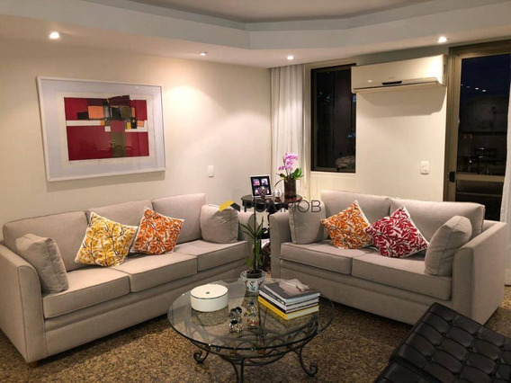 Apartamento Com 5 Dormitórios À Venda, 262 M² Por R$ 4.500.000,00 - Leblon - Rio De Janeiro/rj - Ap3720