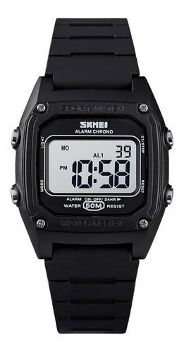 Relógio Infantil Menino Skmei Digital 1614 - Preto