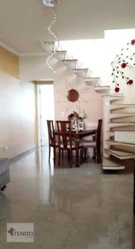 Imagem 1 de 21 de Imob01 - Sobrado 350 M² - Venda - 4 Dormitórios - Vila Ida - Diadema/sp - So0447