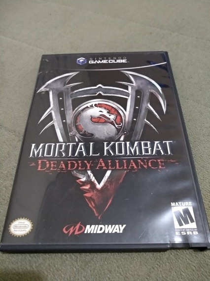 Mortal Kombat Deadly Alliance - Game Cube Completo!