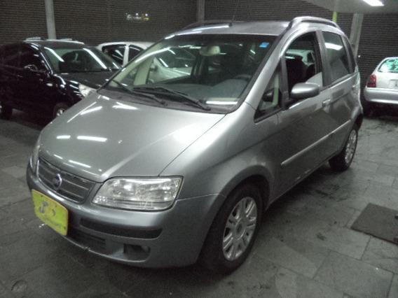 Fiat Idea 1.8 8v Hlx Flex 4p Completo Rodas 2006 Cinza