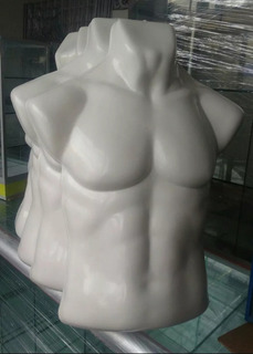 Maniqui Torso Exhibidor Para Caballero, Plastico Flexible!!!