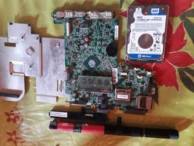 Placa Mãe Notbook Positivo. Memoria 2 Gb Bateria .+fonte