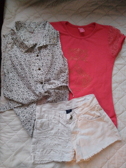 Lote Shorts Coniglio Y Mimo, Camisa