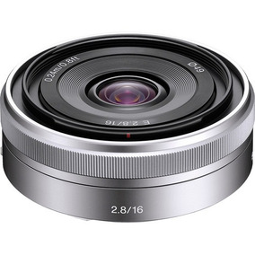 Lente Sony E 16mm F/2.8 (sel16f28) Garantia Sem Juros