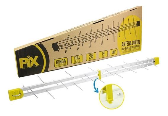Antena Externa Digital Pix 34 Elementos Digilog 008-9522