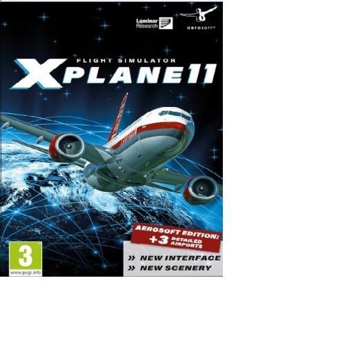 X-plane 11-pc-dvd(midia Fisica)