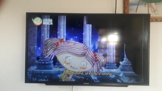 Tv 40 Polegadas Com Defeito Na Tela.