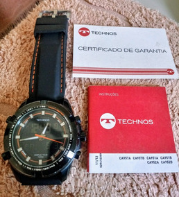 Relógio Technos Ca952b Anadigi/ Horario Mundial