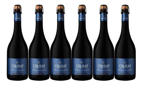 Champagne Cruzat Premier Brut Nature X750cc Caja X6 + Regalo