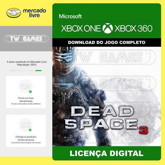 Dead Space 3 Digital Retrocompativel Xbox One Xbox 360