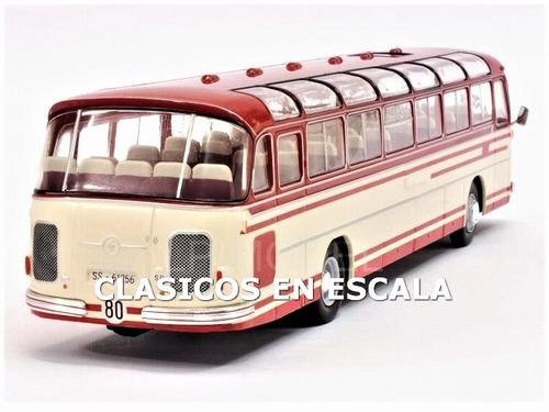 Kässbohrer Setra s14 Alemania Germany 1961 omnibus autobús autobús chocó Ixo hach 1:43