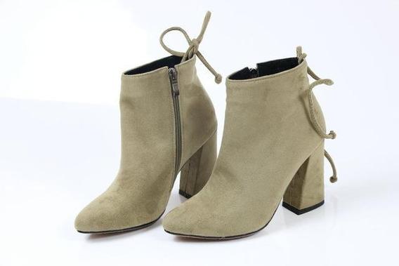 Ankle Boot Feminina Esveva 12069 Importado Frete Grátis