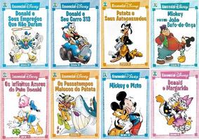 Kit Essencial Disney 8 Vols: 10; 11; 12; 14; 15; 16; 18; 20.