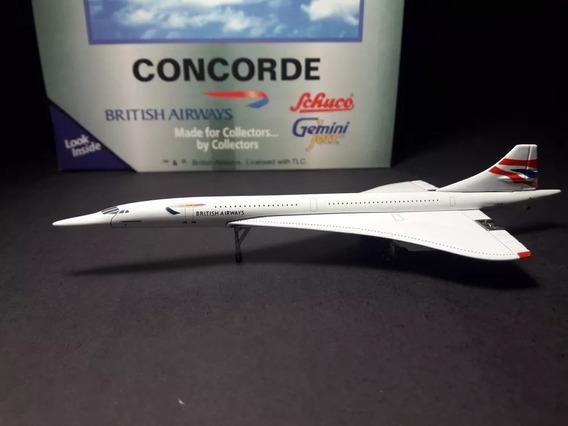 Maquete/miniatura Avião Concorde British Airways 1:400