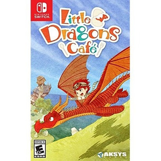 Little Dragons Cafe - Switch Mídia Física Lacrada Original