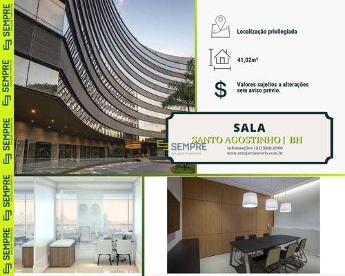 Imagem 1 de 22 de Sala À Venda, 41 M² - Santo Agostinho - Belo Horizonte/mg - Sa0135