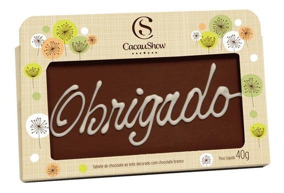 Cacau Show Chocoarte Obrigado 40g