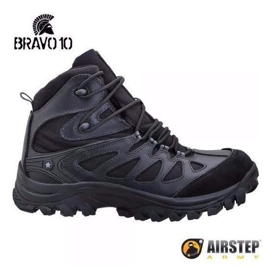 Bota Airstep Hiking Boot Bravo 10 Black / Preta 5700-1